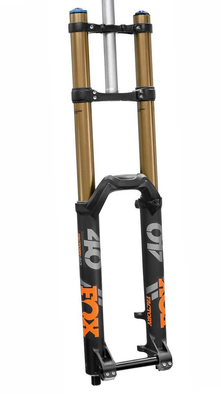 New Fox 20 mm Axle Assembly  Black for 40 forks