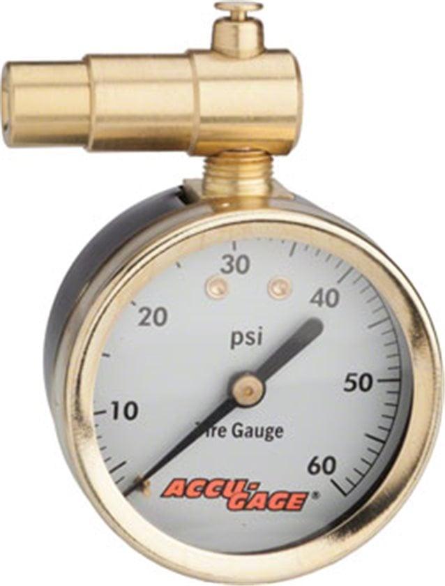 Meiser Accu-Gage Dial Pressure Gauge