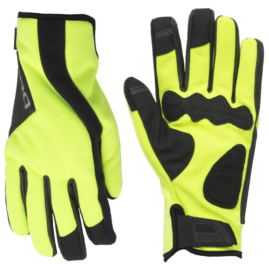 Giant Podium LF Full Long Finger Gel Road Cycling Gloves Pair Black//Red