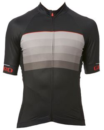 Giro Men's Chrono EXP Jersey 2019 Size Extra Large in Black/Red Horizon
