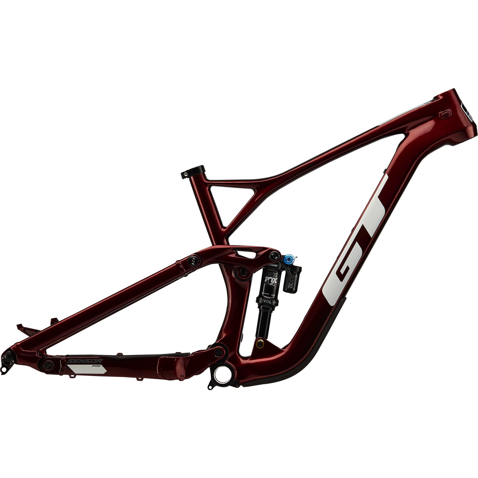 full-suspension carbon fiber bike frame