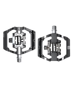 HT Components   D1 Clipless/Flat Pedal   Black   Clipless / Flat