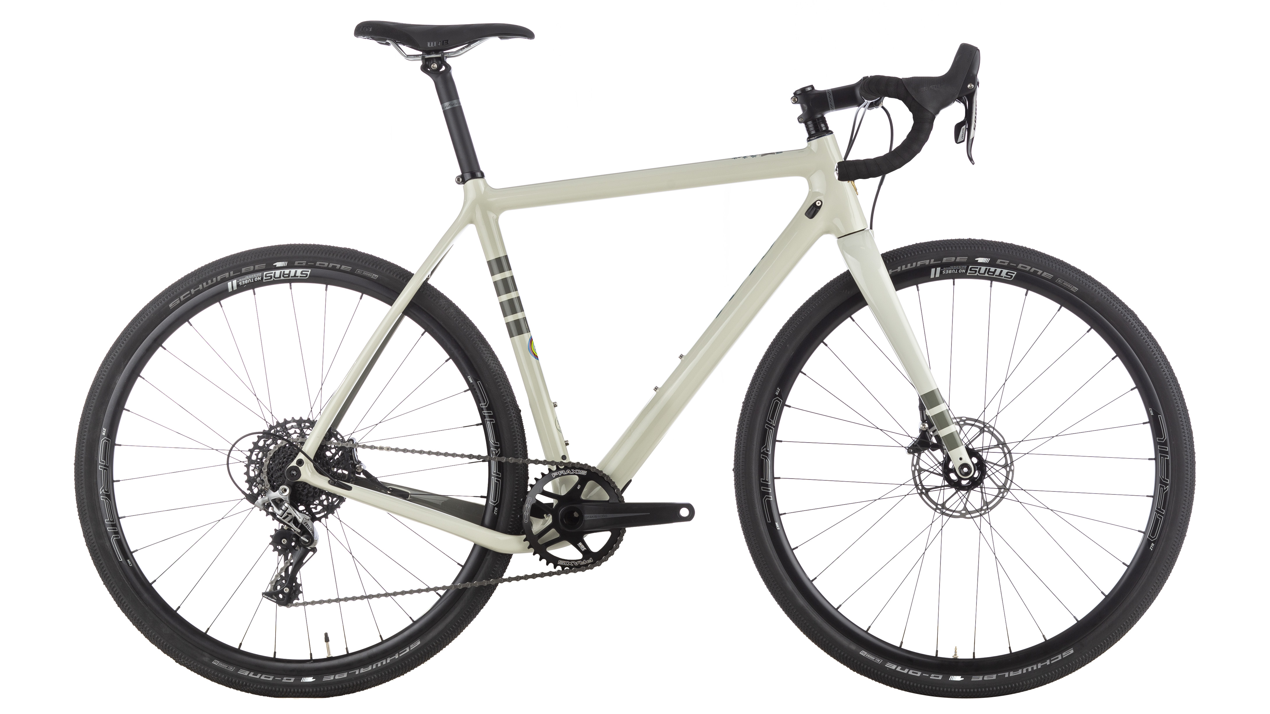 ibis white cyclocross bike