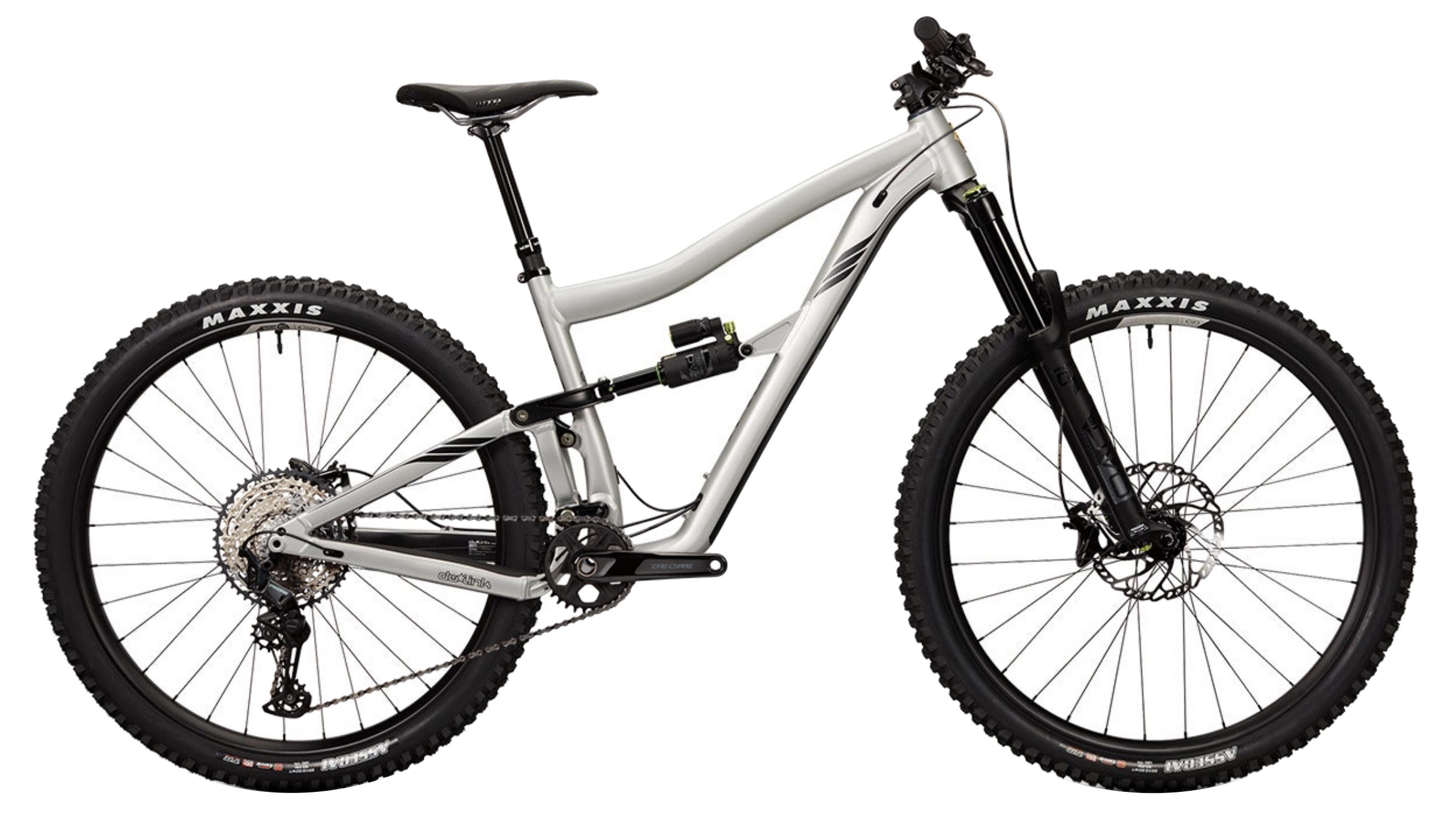 aluminum full-suspension bike