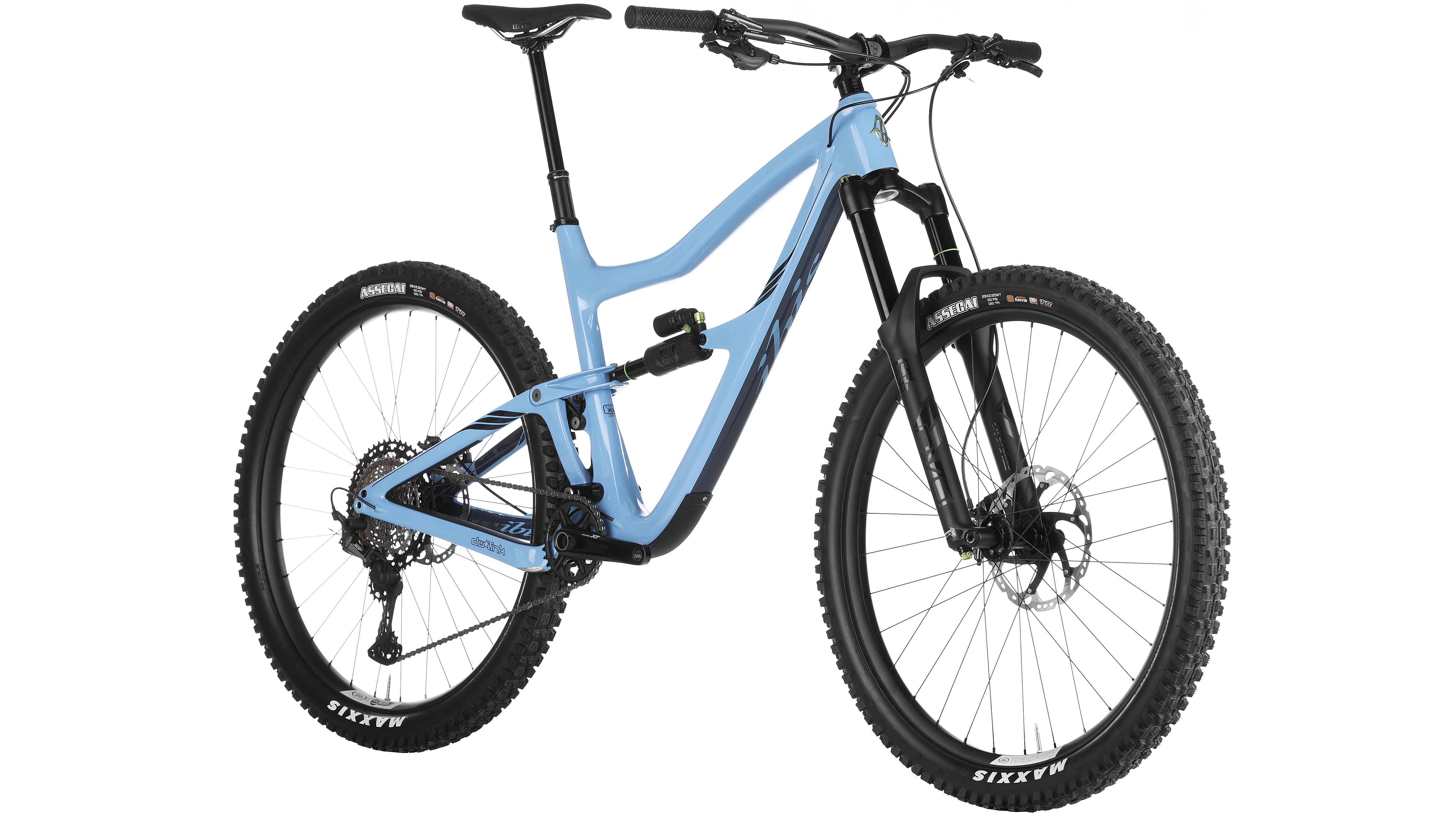 Cyan Ibis Ripmo mountain bicycle