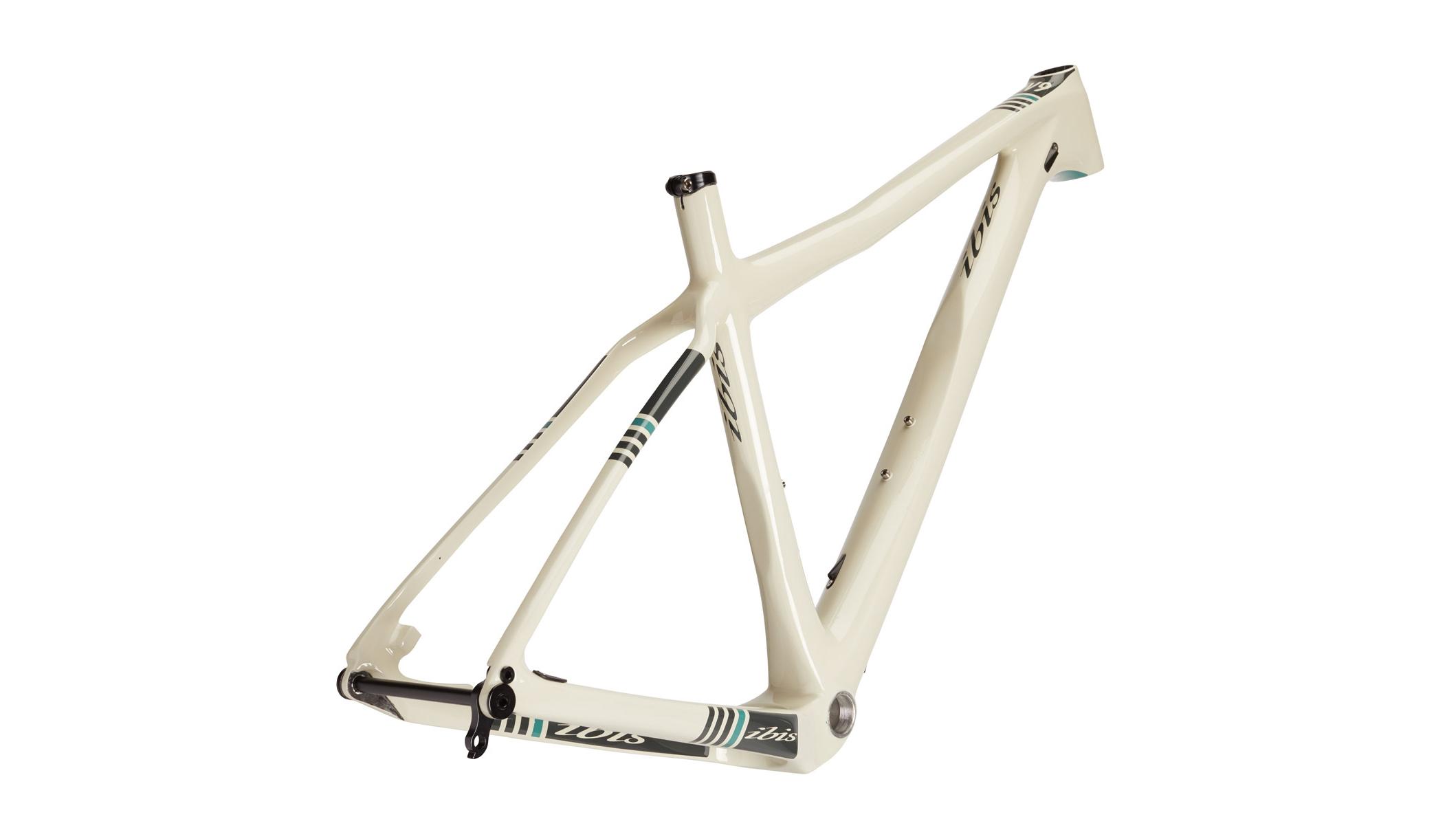 ibis carbon hardtail mountain bicycle frame