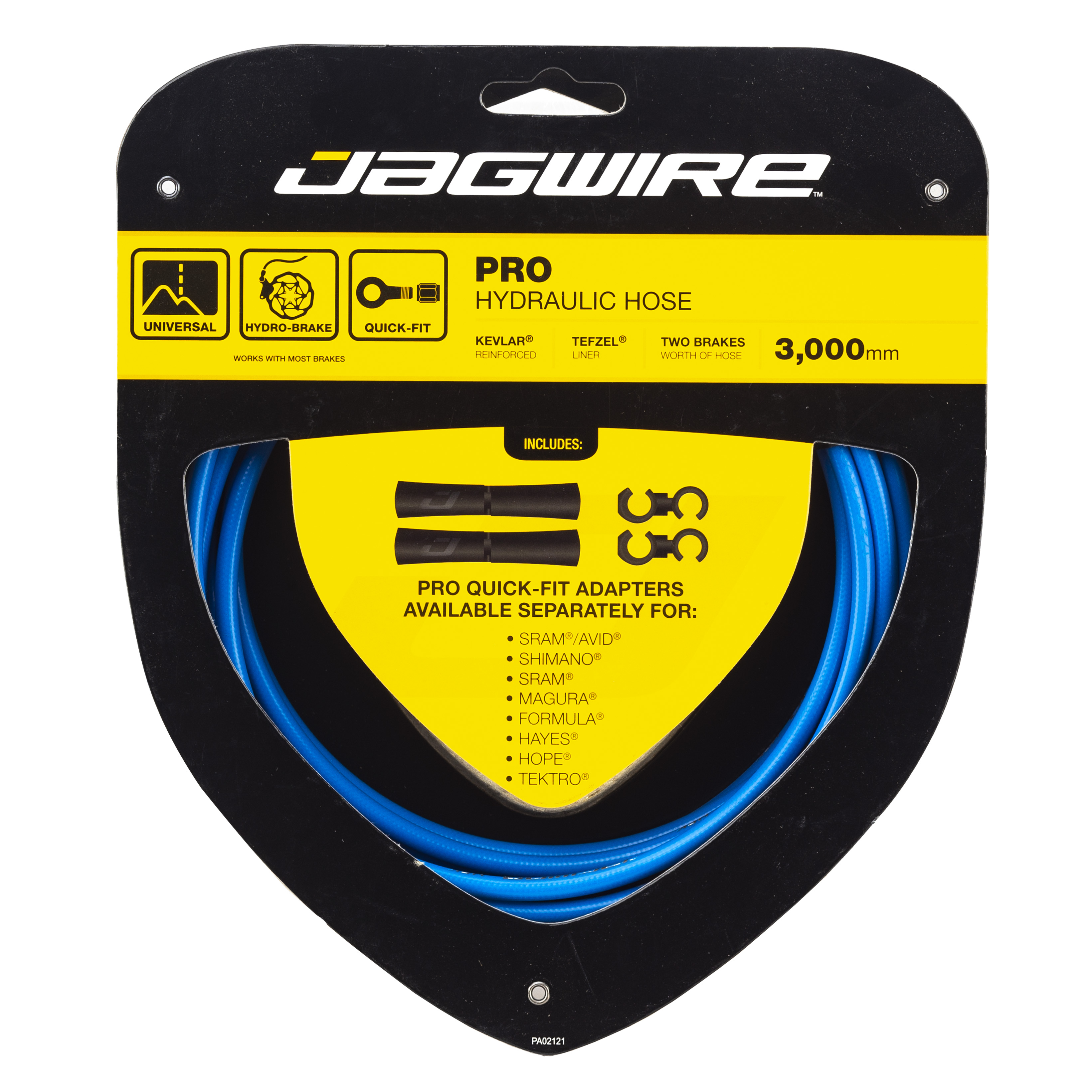 Jagwire Mountain Pro Disc Brake Hydraulic Hose Quick-Fit Adaptor for Formula