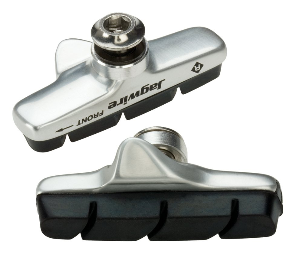 Jagwire Mountain Sport Brake Pads Threaded Post Blue