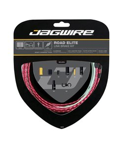Jagwire Road Elite Link Brake Cable Kit Red