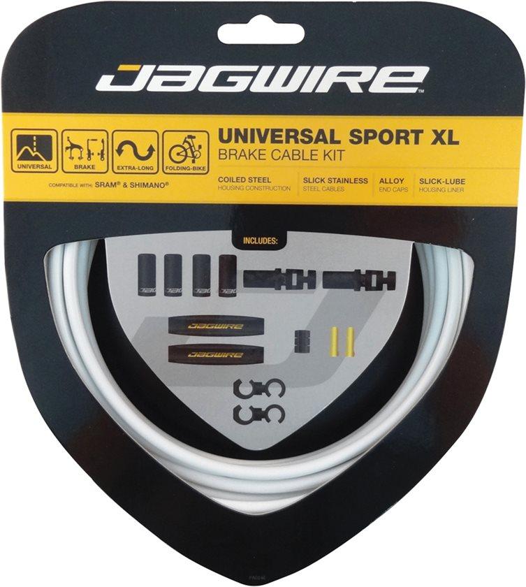 Jagwire | Universal Sport Brake XL Kit White