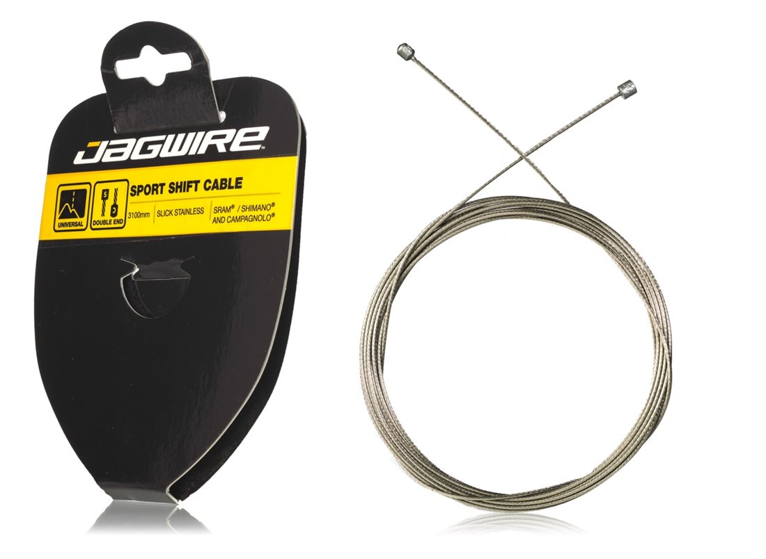 Jagwire Sport Shift Cable Slick Galvanized 1.1x3100mm SRAM//Shimano//Campagnolo
