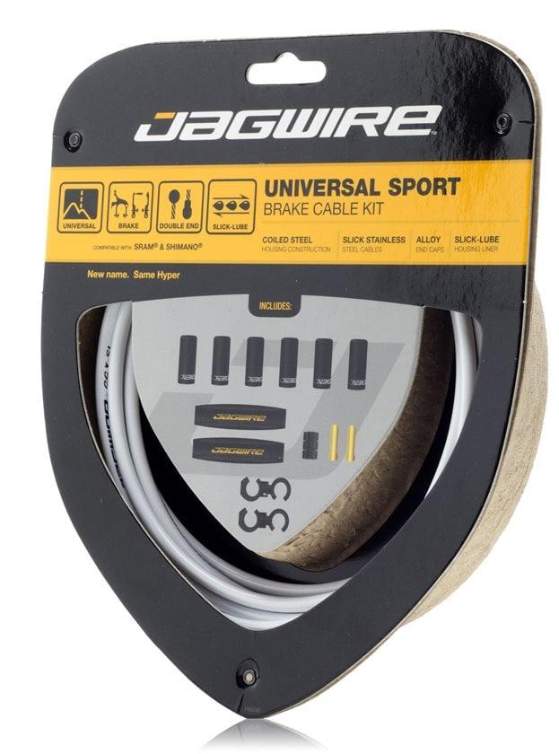 Jagwire Universal Sport Brake Cable Kit White