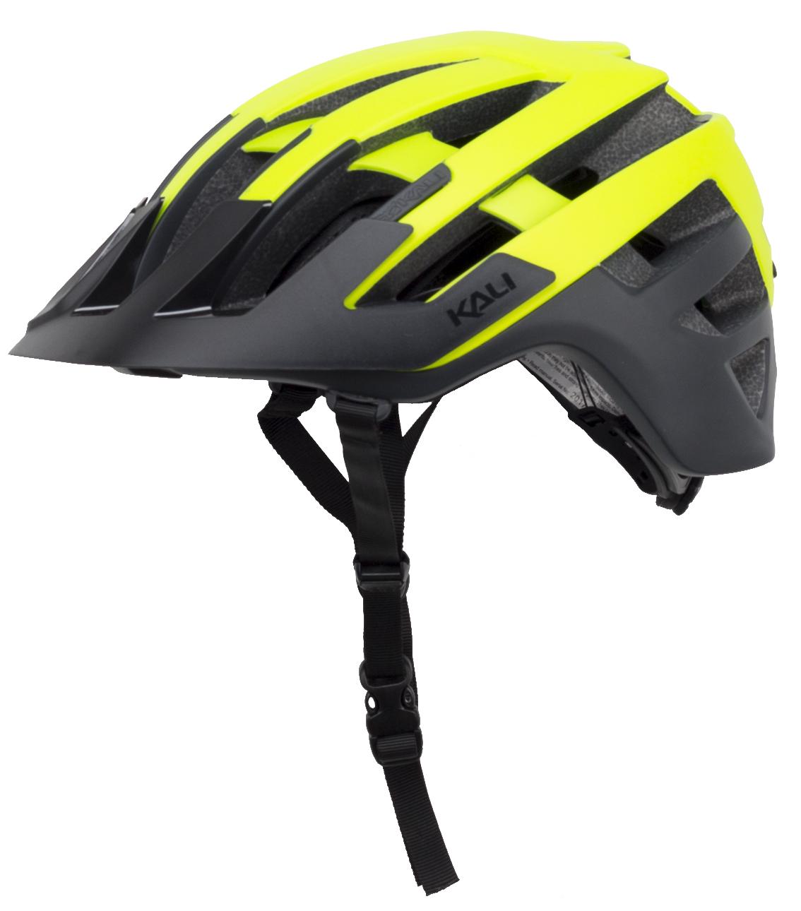 Kali Interceptor Helmet Men's Size Small/Medium in Halo Yellow