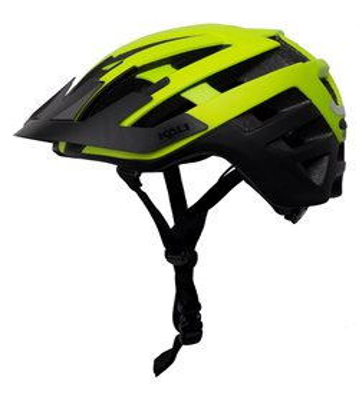 Kali Interceptor Helmet Men's Size Large/Extra Large in Matte Fluo Yellow/Black