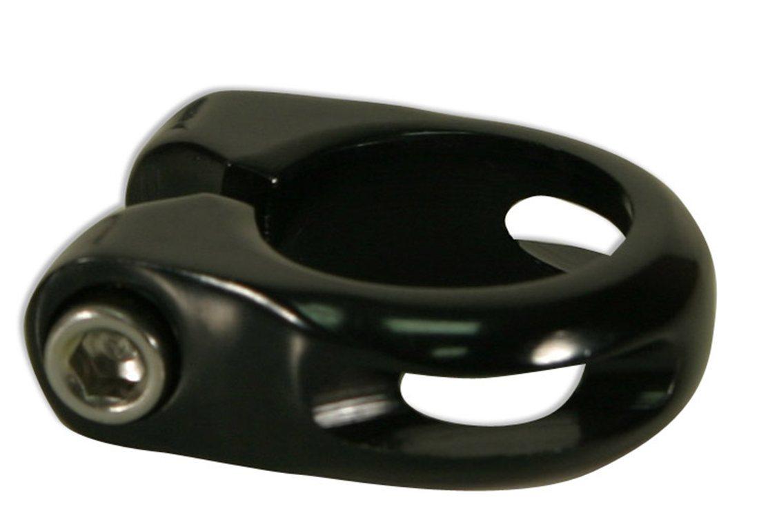 Kalloy MTB-TK seat clamp with bolt 28.6mm blk