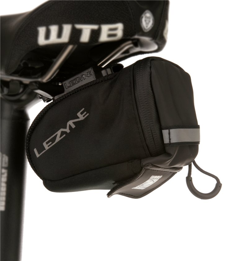 M Lezyne Micro Caddy QR Bike Bicycle Quick Release QR Aero-shaped Saddle Bag