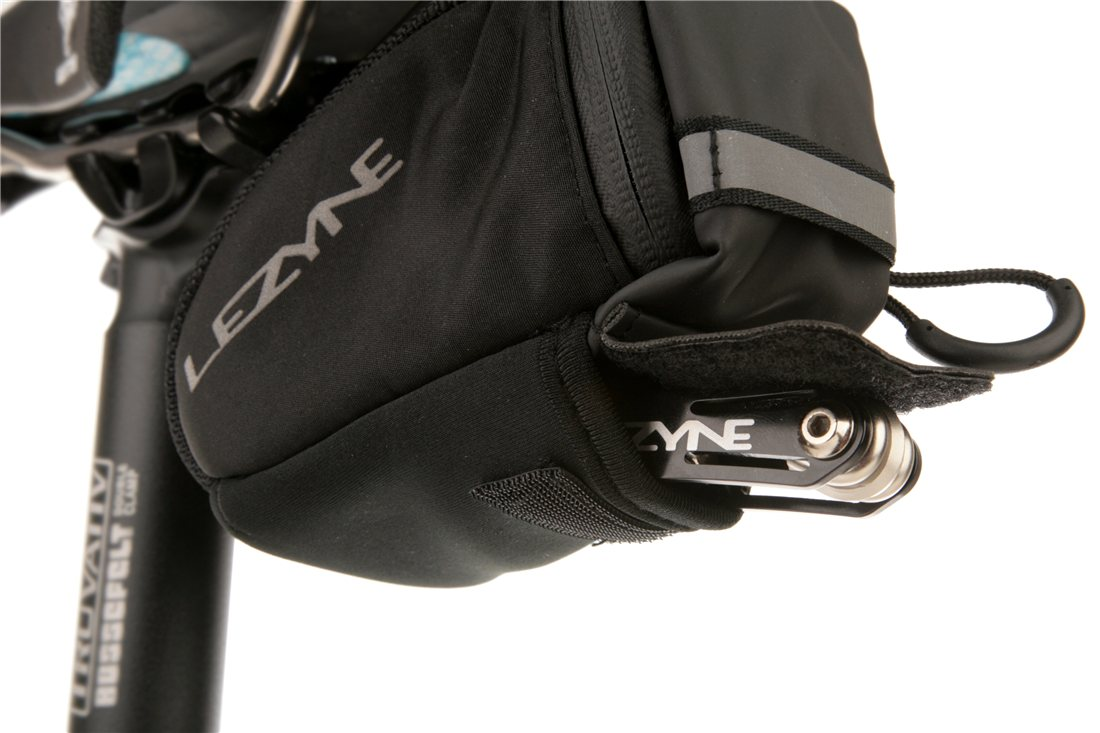 Lezyne Micro Caddy-S Road Bicycle Seat Bag-Small-Black-Cycling-New
