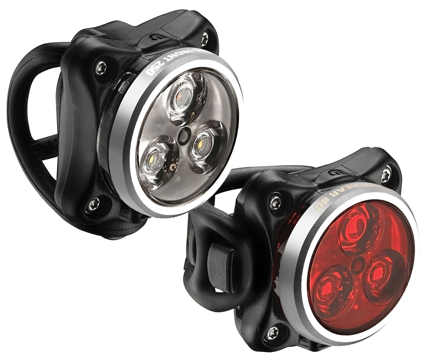Lezyne Zecto Drive bike light set