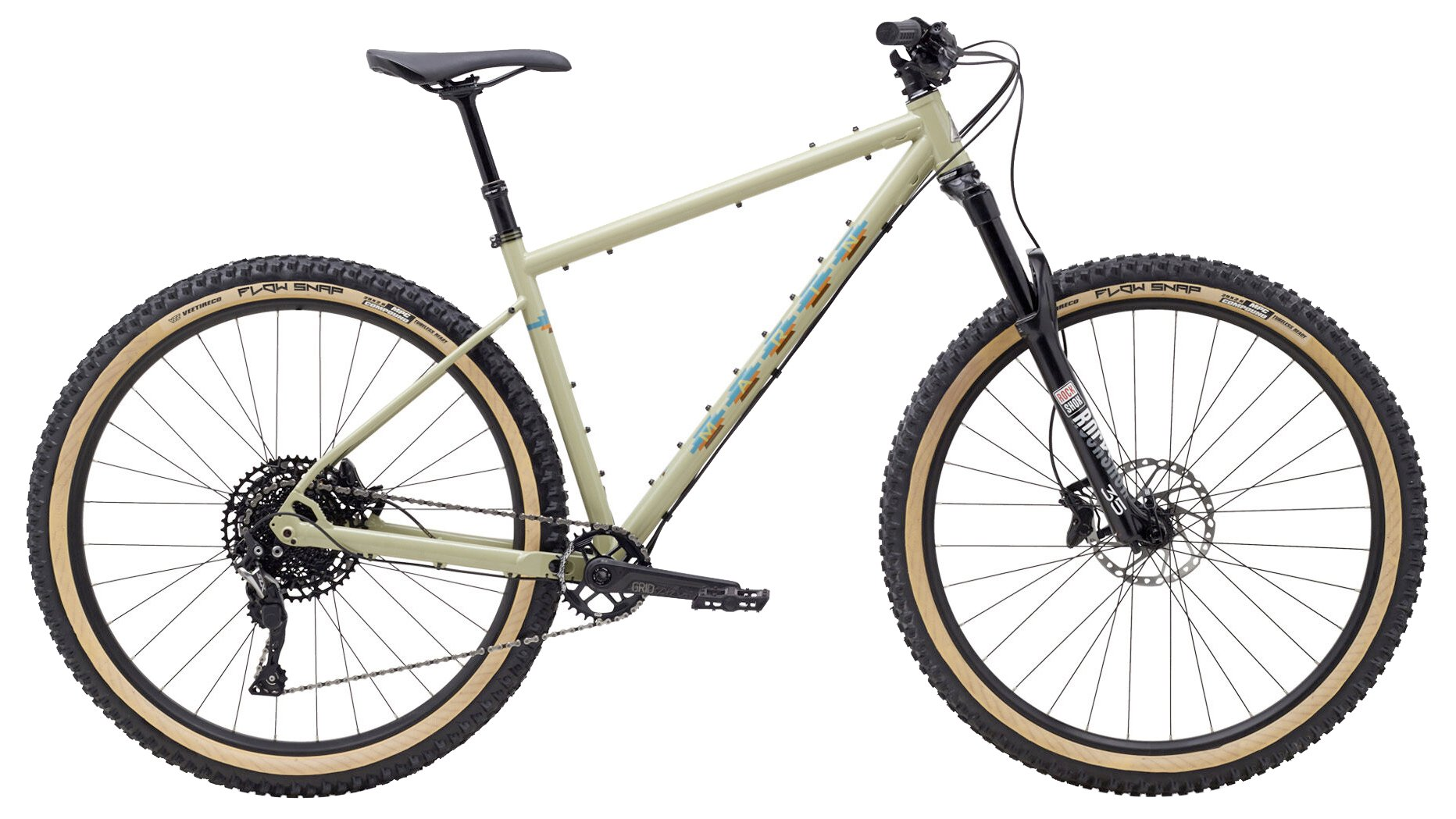 Marin Pine Mountain 2 with a classic steel frame and large volume 29+ tires.