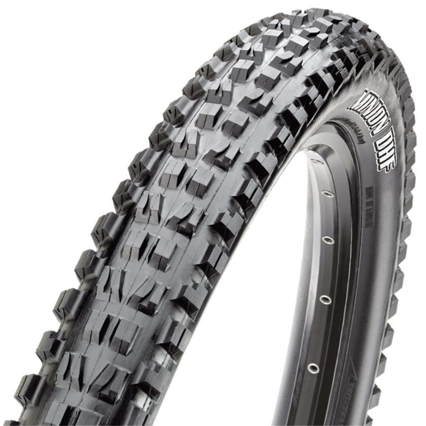 Maxxis Minion FBR Rear DC//EXO//TR Tire 26x4.0 Black Folding Bead 120 TPI