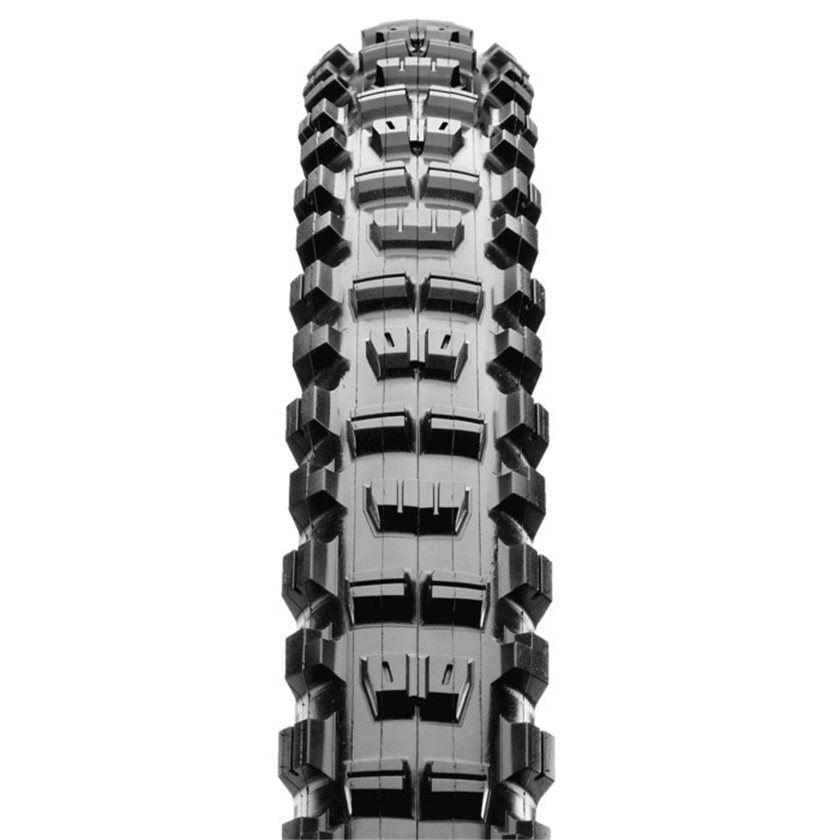 Maxxis Minion DHR Ii Tire 24 X 2.3 Folding Clincher Dual Compound Black Tan