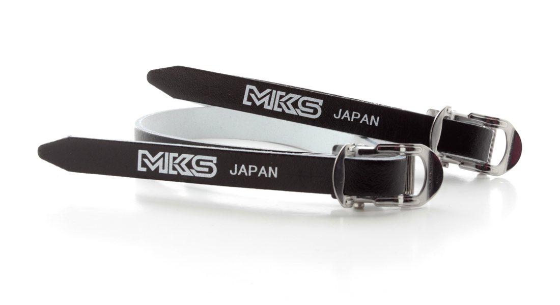 MKS Leather Toe Straps 420mm Long Black