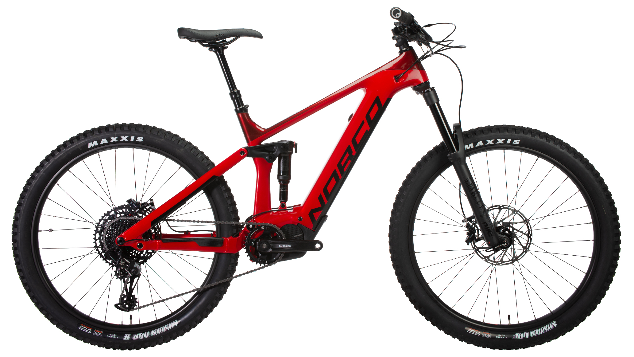 full suspension electric trail bike