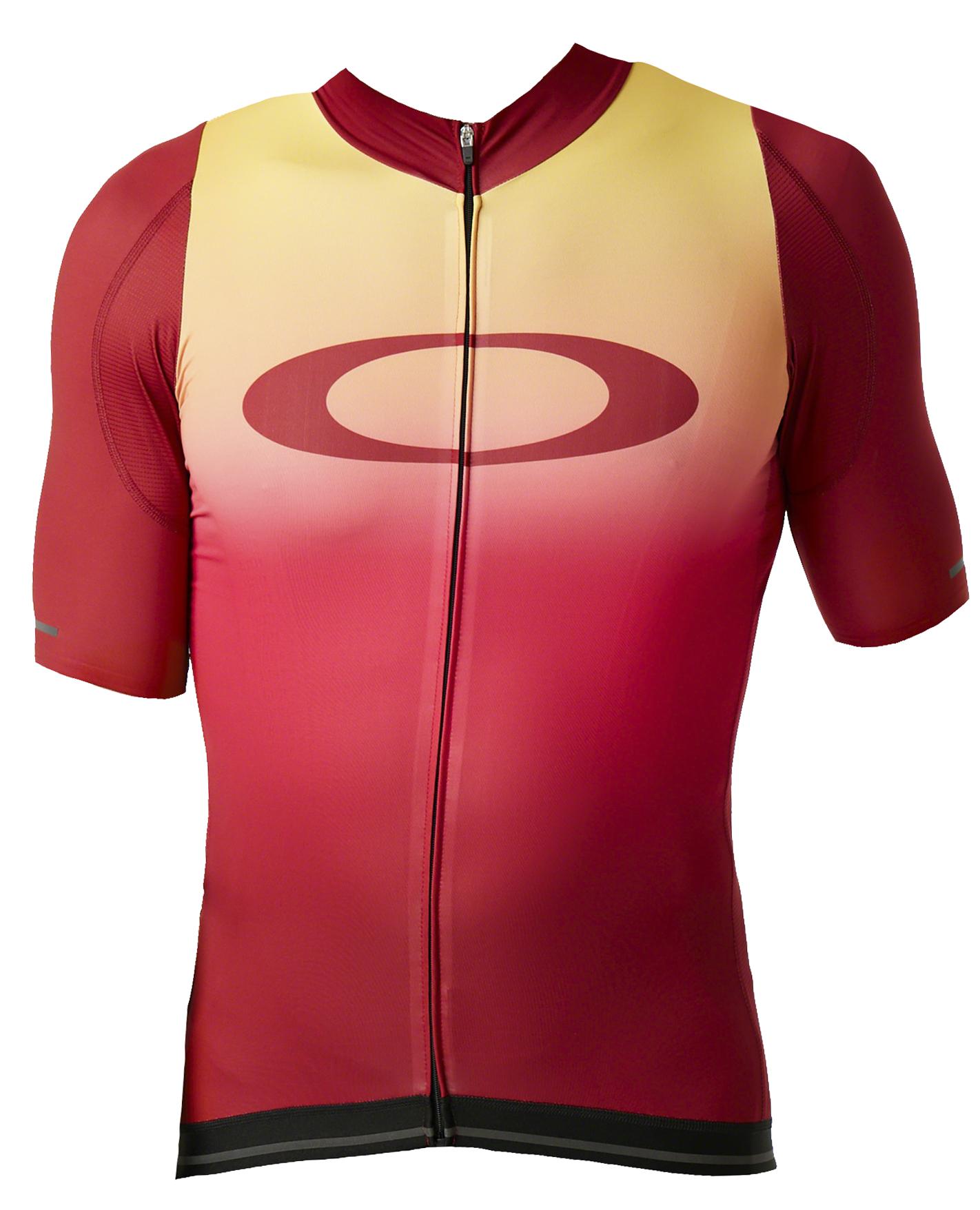 Oakley | Aero Jersey Men's | Size Small in Red Iridium