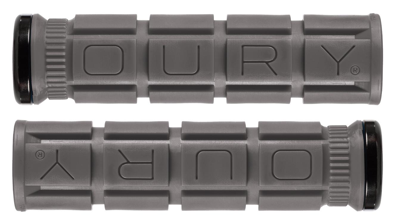 Oury Single-Sided V2 Lock-On Grips Jet Black