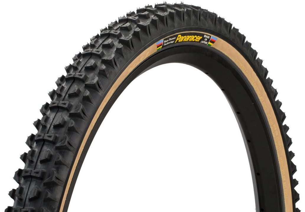 Panaracer Dart 26x2.1 Tire Black Tread Tan Sidewall Folding Bead