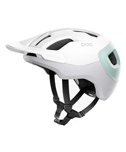 Poc Axion Spin Helmet Men's Size Medium/Large in White/Green