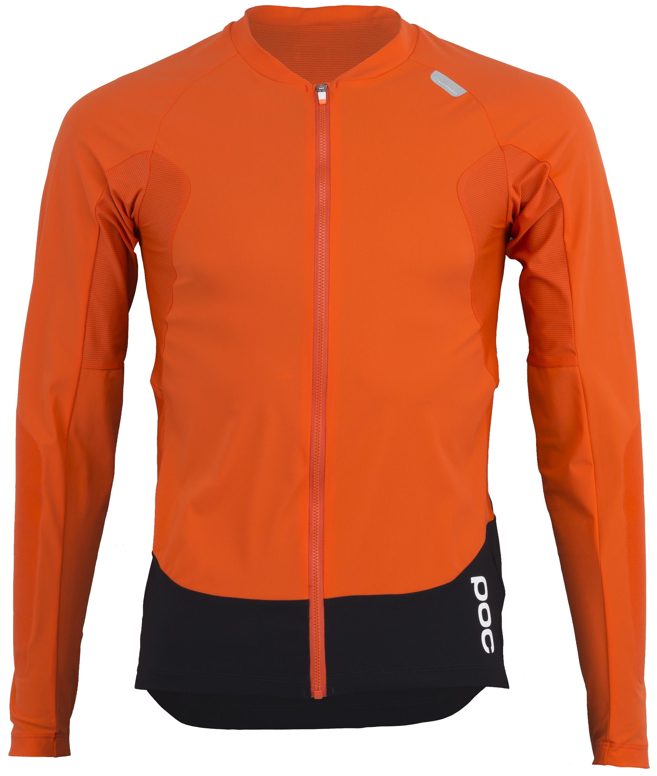 POC Resistance Pro Enduro LS Jersey Men's Size Small in Bullvalene Orange