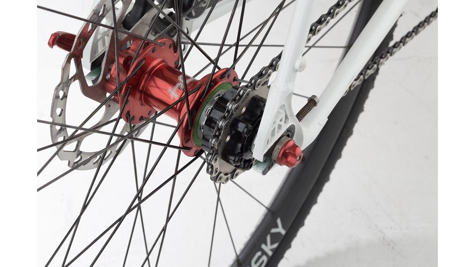 4x Fahrrad Kettenspanner Einsteller Für Fixed Gear Single Speed TracRSFD YJ