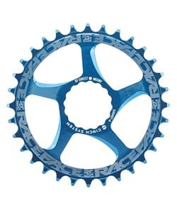 Race Face | Cinch Direct Mount Chainring | Blue | 30 Tooth | Aluminum