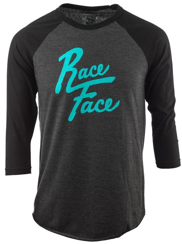 Race Face Baller T-Shirt Men's Size XX Large in Charcoal/Black