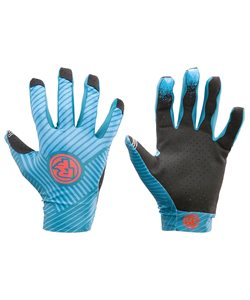 Race Face Indy Lines Gloves 2018 Men's Size Extra Small in Blue