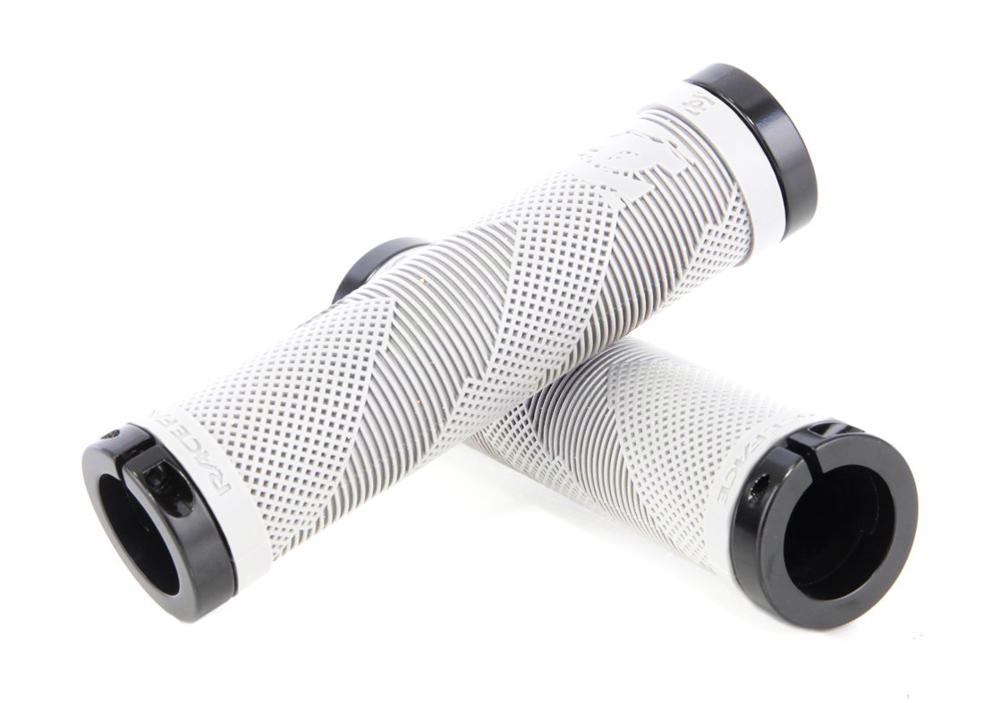 RACE FACE SLIP-ON SNIPER GRIPS-RED-Made in the USA