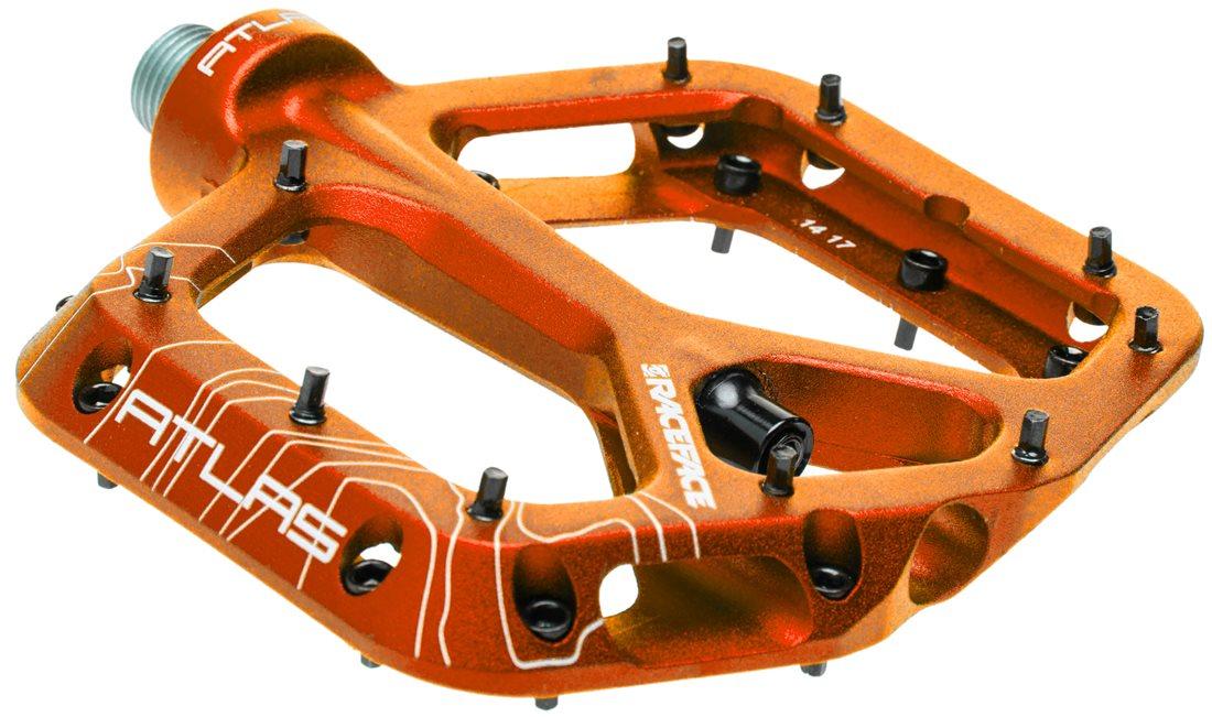 Race Face Atlas Platform MTB Mountain Bike Pedals Red
