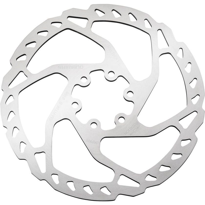 Shimano SLX//Deore RT66M 180mm 6-Bolt Disc Brake Rotor