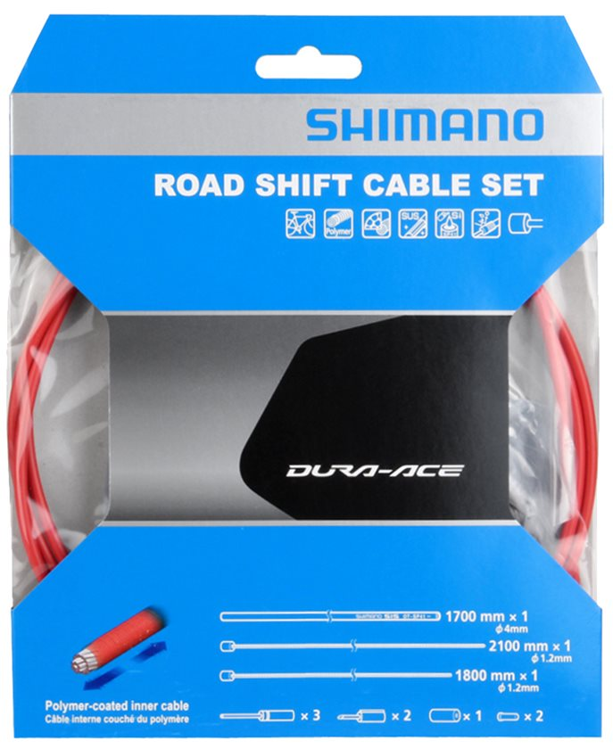 Shimano Dura-Ace R9100 SP41 Derailleur Cable Set Polymer-Coated Y0BM98010