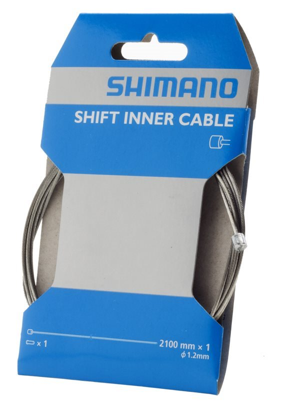 Shimano Optislick Stainless Steel Shift Inner Cable Derailleur 1.2 x 2100mm