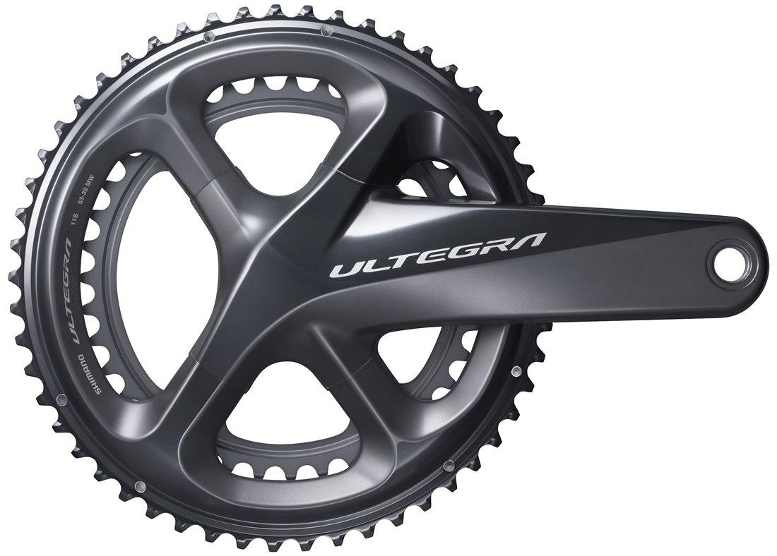 Shimano Ultegra R8000 Road Bike Crankset 172.5mm 34//50T 11 Speed w//o BB New