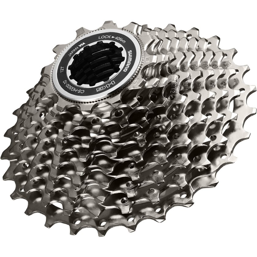 SHIMANO MTB Cyling HG500 10Speed Cassette 10S 11-42T Silver Black New
