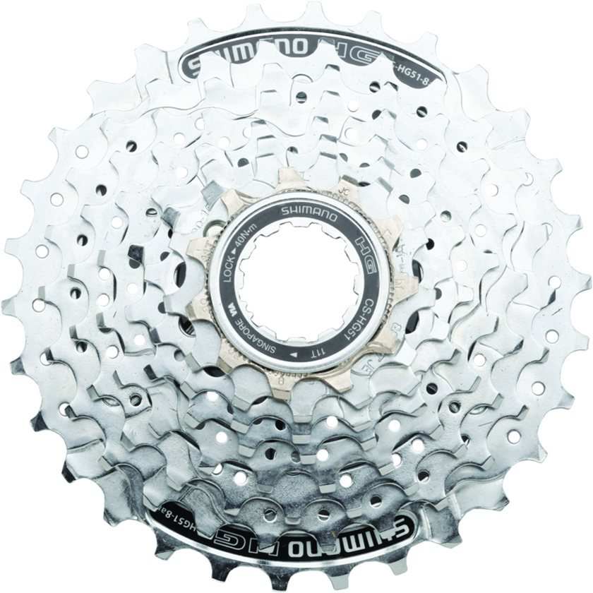 30T Cassette//Sprocket HG51-8 SHIMANO ALIVIO MTB Bike CS-HG51-8 8 speed 11-32T