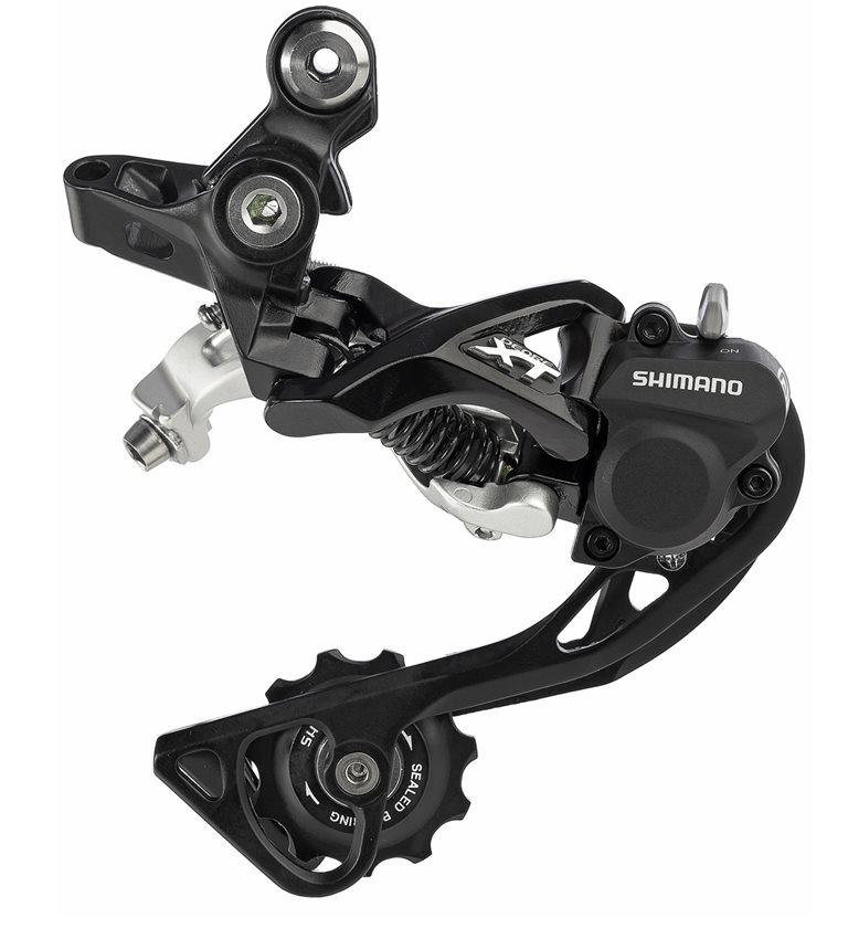 Shimano XT RD-M786 10 Speed Rear Derailleur Black, Medium Cage