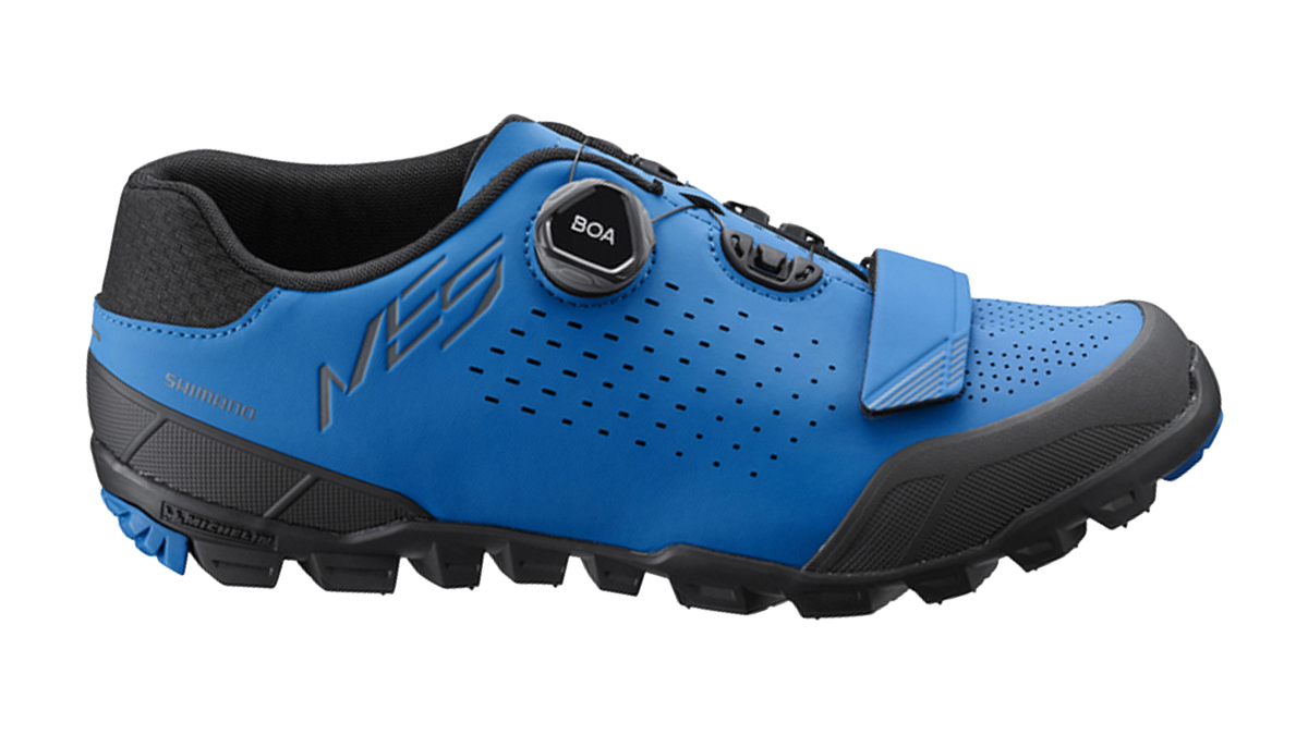 Shimano mountain cycling shoes