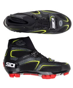Sidi MTB Frost Gore-Tex Shoes 2019 Men's Size 44 in Black/Yellow