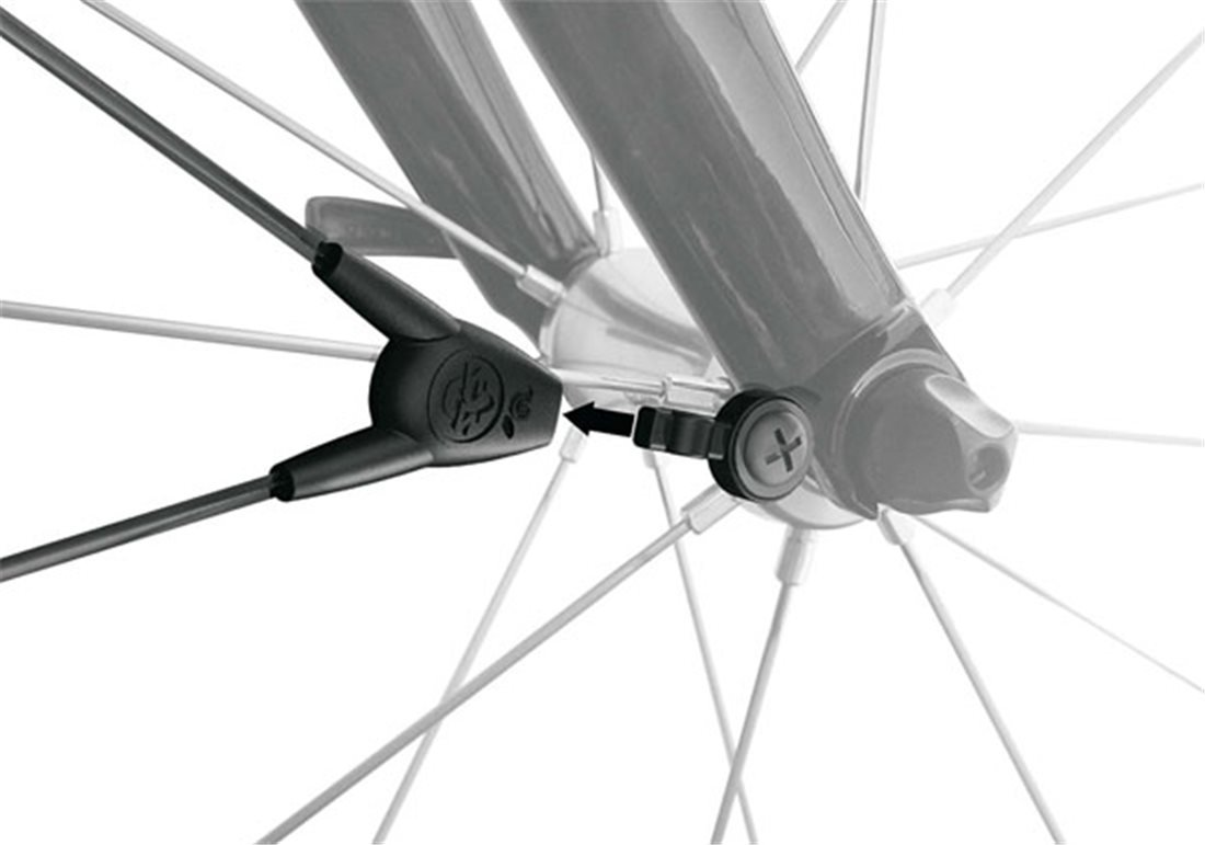 SKS Commuter II Plastic Road Bicycle Fender Set 700c Easy Mount With Hardware