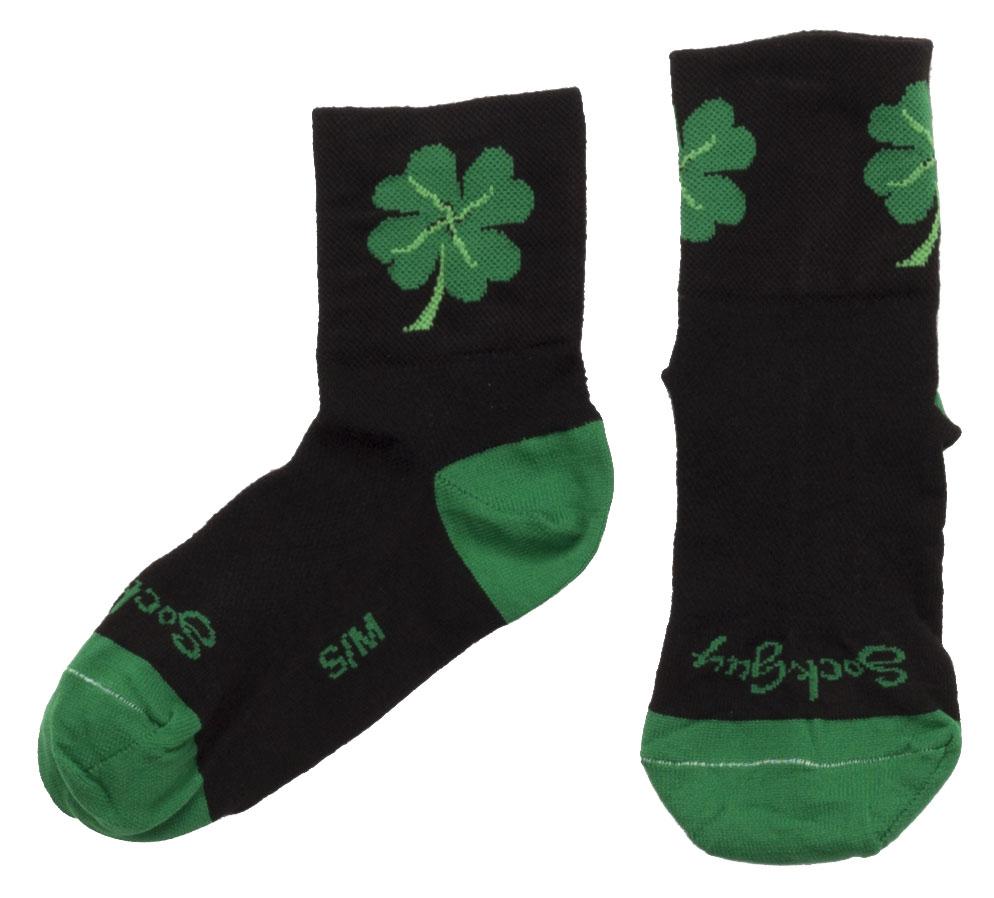 Small//Medium SockGuy Classic Biker Chick Socks Black 3 inch Women/'s