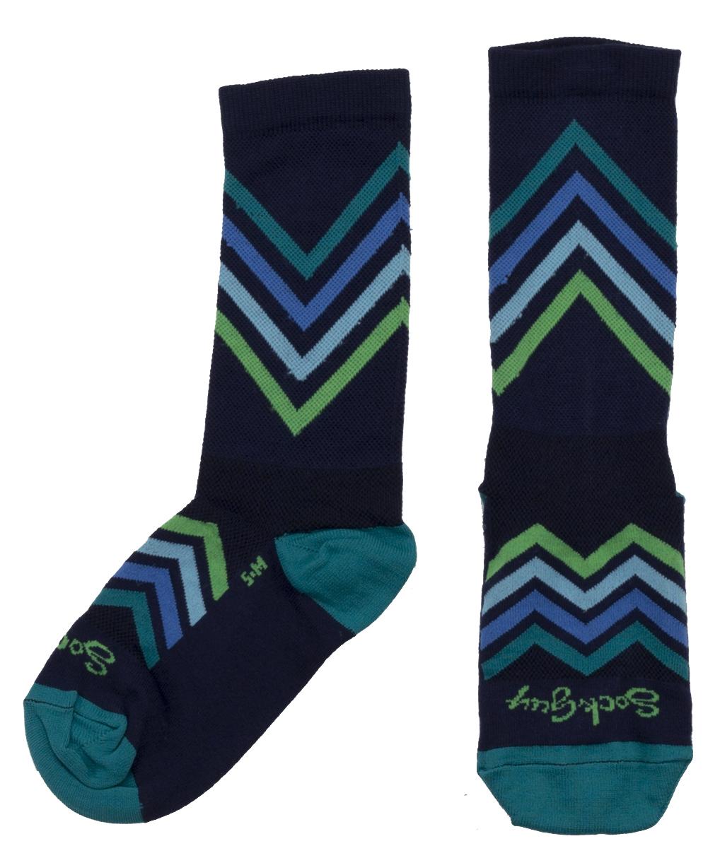Sockguy Chevron Crew Cycling Socks